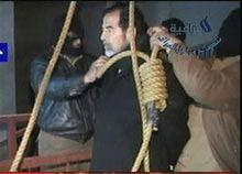 Video quay vụ tử hình Saddam phát tán trên Internet