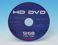 Toshiba phát triển đĩa HD DVD 3 lớp, dung lượng 51GB