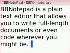 BBNotePad