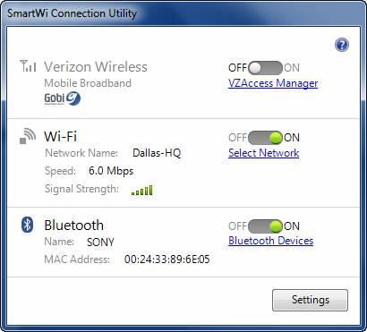 Tiện ích kết nối SmartWi