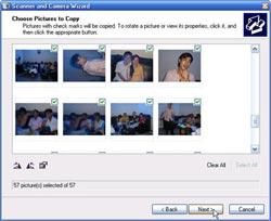 Cách lấy hình từ máy ảnh kỹ thuật số
