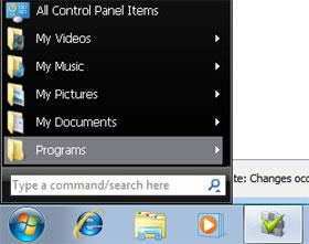 Phục chế menu Start cũ trong Windows 7