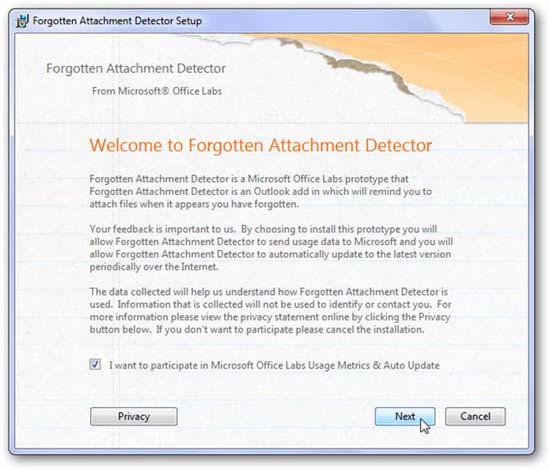 Tránh quên gửi đính kèm trong Outlook