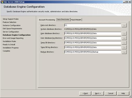 Cài đặt SQL Server 2008