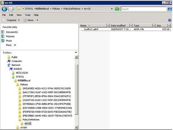 Quản lý Outlook 2007 thông qua Group Policies – Phần 1