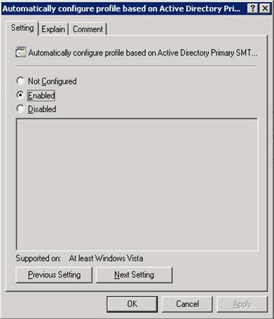 Quản lý Outlook 2007 thông qua Group Policies – Phần 3