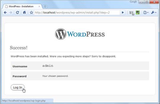 Biến thiết bị di động thành hệ thống Web Server Portable