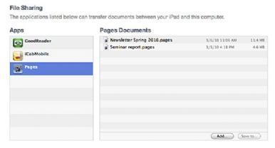 Di chuyển các file giữa iPad và Mac - Quantrimang com
