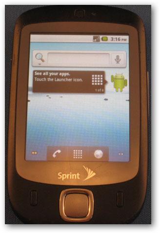 Sử dụng hệ điều hành Android trên Windows Mobile Phone 1