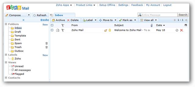 Truy cập và chỉnh sửa tài liệu trực tuyến với Zoho