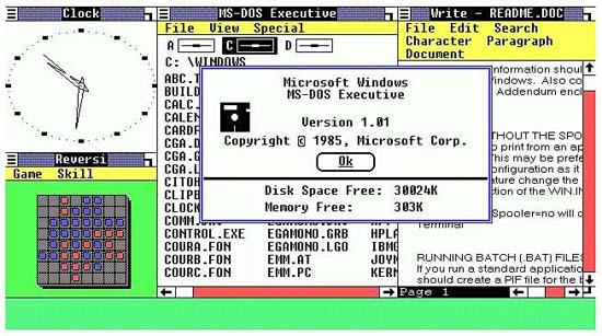 Lịch sử hệ điều hành Windows của Microsoft xuyên suốt qua các thời kỳ HistoryMicrosoft2
