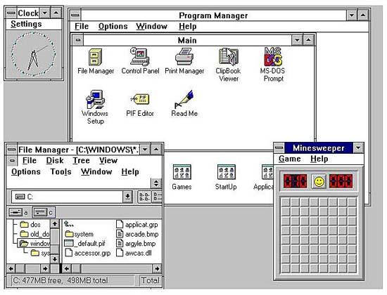 Lịch sử hệ điều hành Windows của Microsoft xuyên suốt qua các thời kỳ HistoryMicrosoft5