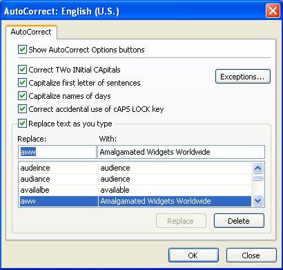 MS Access 2003 - Bài 38: Sử dụng tính năng AutoCorrect