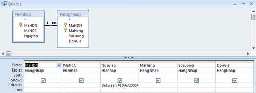 Bài 3: Các đối tượng trong cơ sở dữ liệu Access 2007