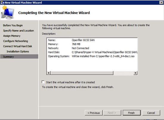 Hướng dẫn cài đặt máy chủ iSCSI SAN trong Hyper-V
