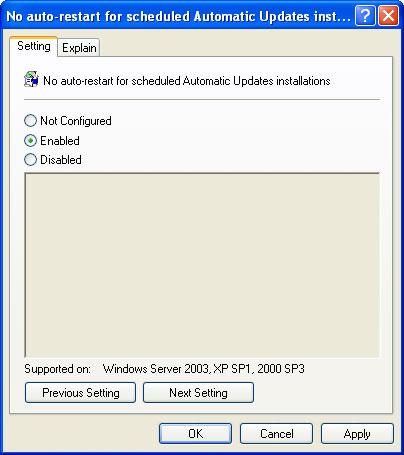Chặn Windows khởi động lại sau khi cập nhật Windows_update_02