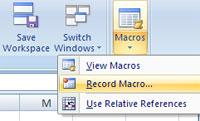 MS Excel 2007 - Bài 7: Tạo Macro trong Excel 2007