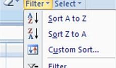 MS Excel 2007 - Bài 8: Sort and Filter