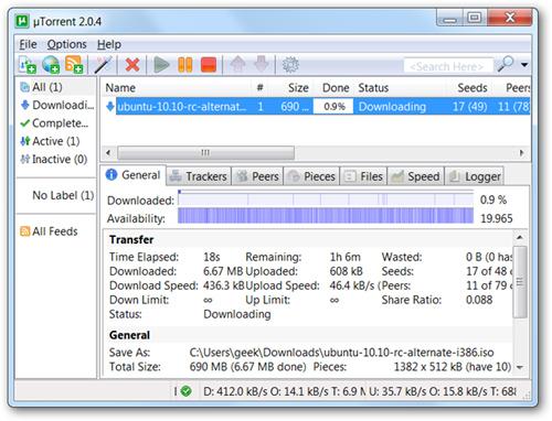 Download torrent ở bất cứ nơi đâu với Dropbox