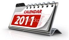 Download các mẫu lịch 2011 mới nhất từ Microsoft
