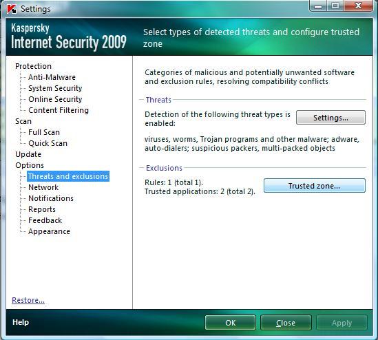 Sửa lỗi HPQKBFILTR SYS Keylogger trong Kaspersky - Quantrimang com