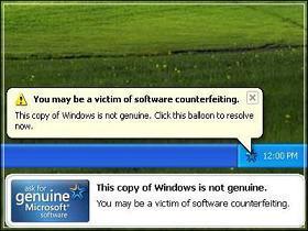 Các vấn đề với Windows Genuine Advantage và cách giải quyết