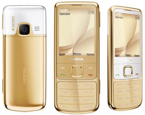 Nokia giới thiệu điện thoại 6700 Classic Gold Edition