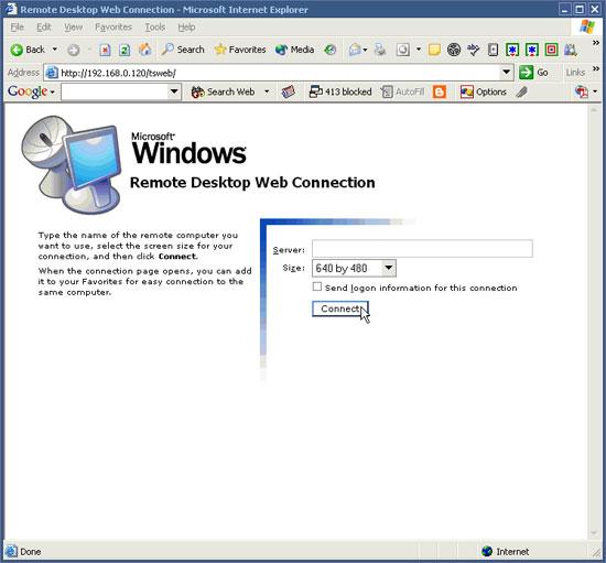 Cài đặt Remote Desktop Web Connection trên Windows XP