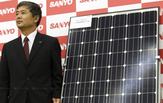 Sanyo chuẩn bị sản xuất đại trà pin Mặt Trời HIT