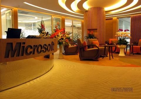 Ngắm văn phòng làm việc đẹp như mơ của Microsoft VN