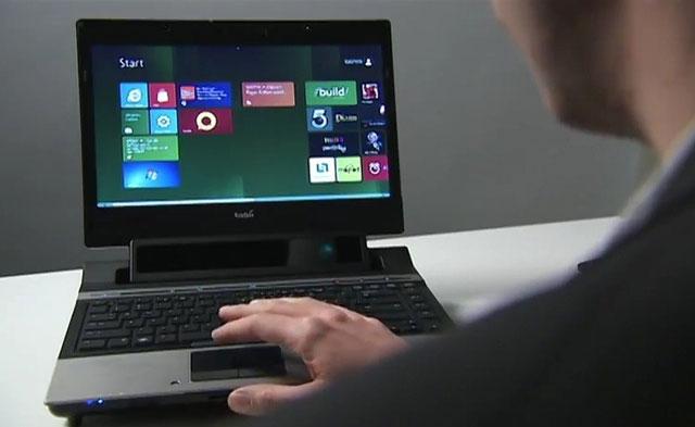 Video điều hướng trên Windows 8 bằng mắt