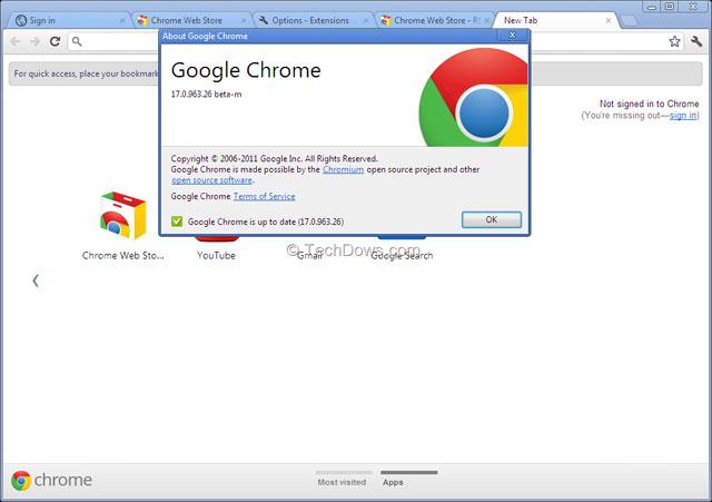 Chrome 17 chặn malware giúp người dùng