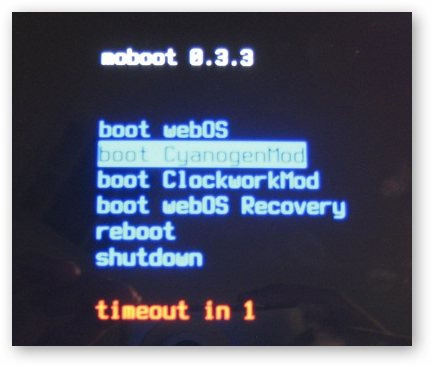 lựa chọn bootloader