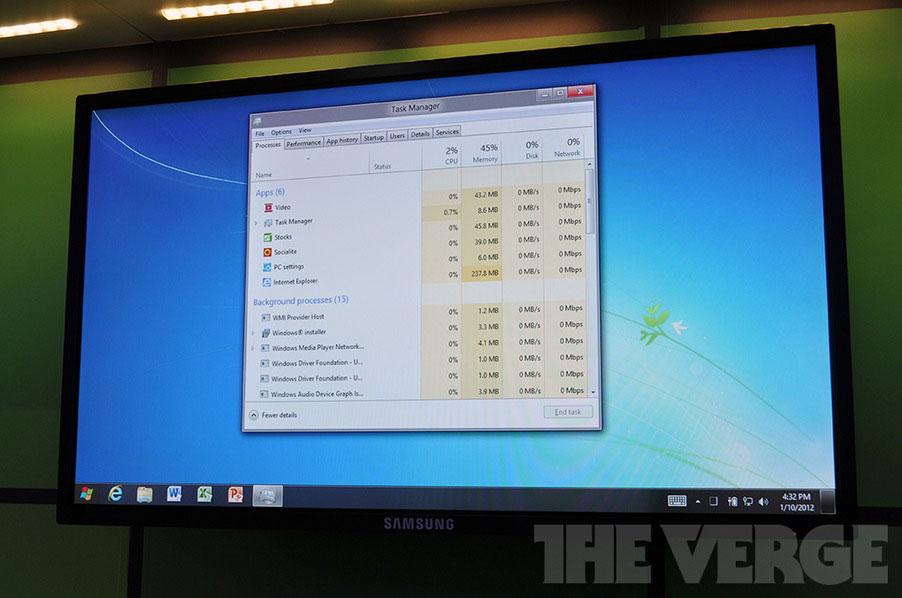 Trải nghiệm thực tế Windows 8 pre-beta