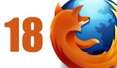 Mozilla chính thức ra mắt Firefox 18