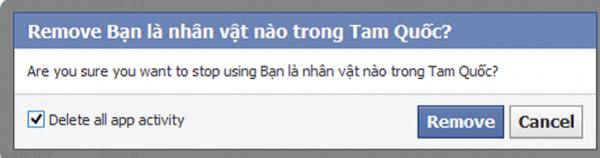 Gỡ bỏ các ứng dụng gây hại khỏi Facebook