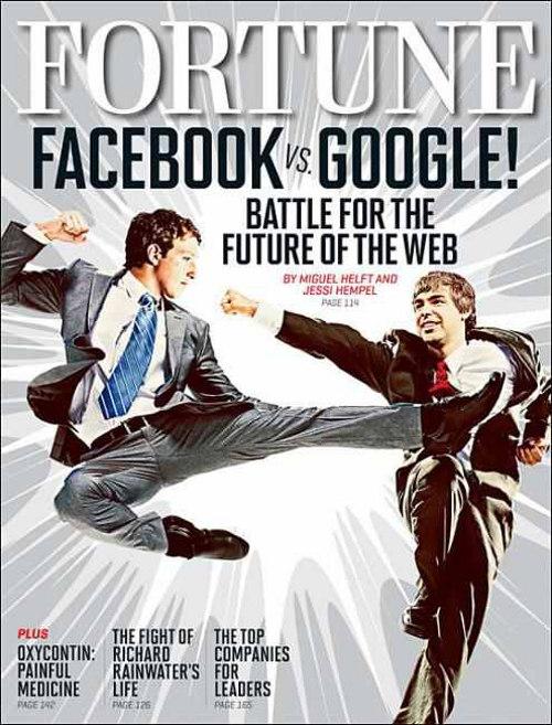 Facebook đã sẵn sàng châm ngòi chiến với Google?