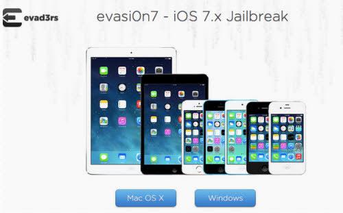 Công cụ Jailbreak iOS 7 có bản cập nhật