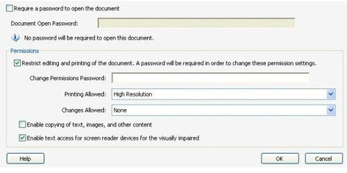 Hướng dẫn cách để cài mật khẩu cho file PDF