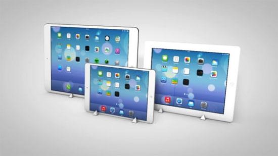 iPad Pro màn hình 12,9 inch sẽ hỗ trợ theo dõi chuyển động mắt