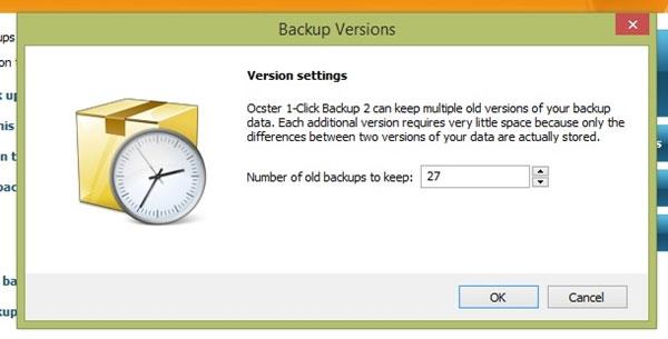Ocster 1-Click Backup - Sao lưu Windows chỉ với 1 cú Click!
