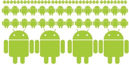 Lượng thiết bị Android sẽ vượt mốc 1 tỉ trong năm nay