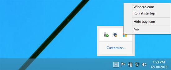 Làm nút Start mất hút trên Windows 8.1