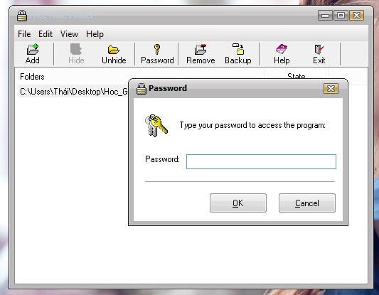 Ẩn và bảo vệ thư mục trên Windows