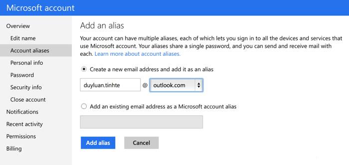10 thủ thuật sử dụng hiệu quả và an toàn cho tài khoản Microsoft