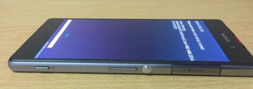 Lộ diện hình ảnh chiếc Sony Xperia Z2