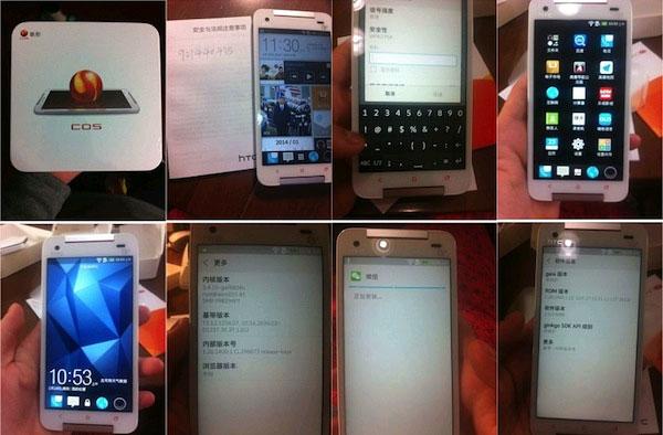 """Xa rời Windows Phone, HTC """"đi đêm"""" với China OS?"""