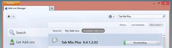 Làm thế nào để di chuyển các tab trong Firefox xuống dưới?
