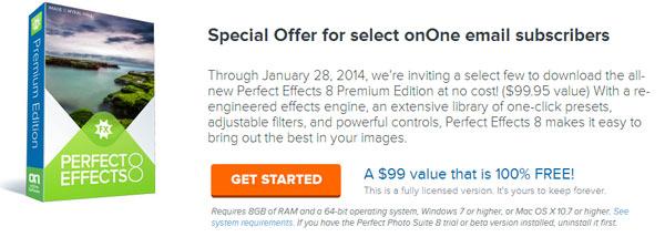 Tặng miễn phí phần mềm Perfect Effects 8 Premium Edition