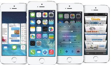 80% thiết bị iOS chạy iOS 7